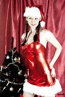 TS Hannah Sweden - naked Santa tgirl