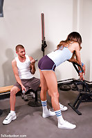 Hardcore Sex In Gym