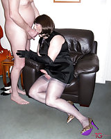 Hot ramming with a slut in heels