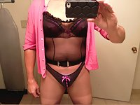 Lingerie outfits nylons and heels
