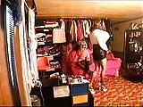 Busty crossdresser masturbation video