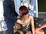 Redhaired ebony sucked in 69 position