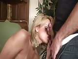 Bareback sex for pretty blonde tgirl