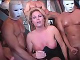 Barbie Woods - Superstar Shemale Gangbang 2