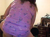 TS Donna Plays With Dildo