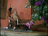 Threesome Scene