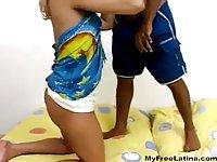 Blonde Tgirl got analed