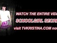 TVKRISTINA is a naughty schoolgirl