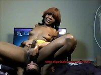 Black Tgirl amateur videos