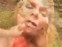 Sudden sex on a river bank