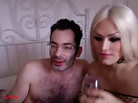 Webcam couple fun