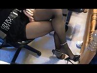 Crossdresser sevy anal fingers, cumshots, sexy
