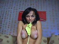 Carla Novais Gets Dick Sucked