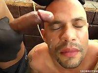 Male Slave Gets Punished