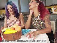 Bored Housewives Make Their Own Fun