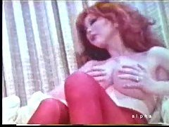 Vintage sex with a busty tranny at gotranny.com