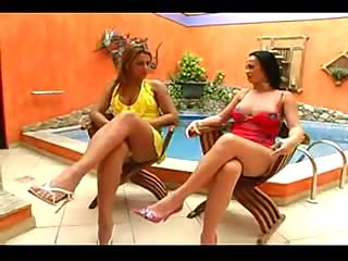 Hot Trannies In Outdoor Pounding