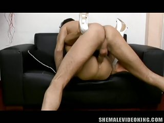 All positions sweet drilling with seductive tranny