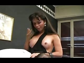 Spoiled Mature tranny have fun from bonking