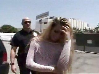Bald cop fucks Tgirl