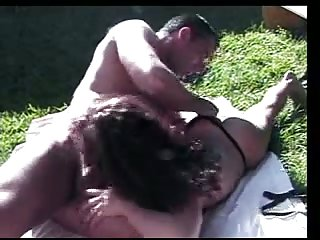Hot outdoor fucking