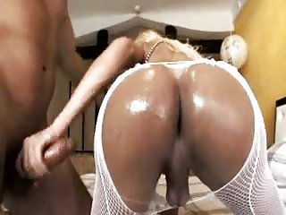 Dirty threesome action