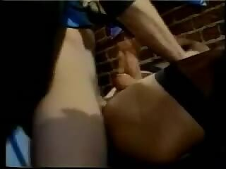 Vintage tranny gets an anal after sucking