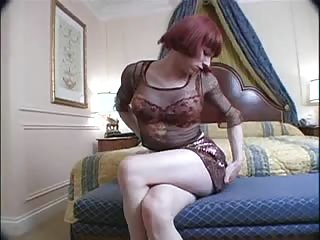 Lonely redhead tranny chick needs your attention