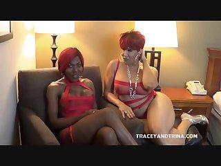 Tracey and Trina Make it Rain
