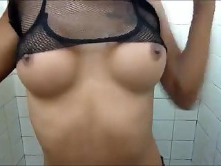 Ladyboy masturbation