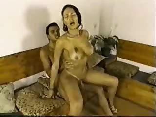Deep anal ramming for busty latina tranny