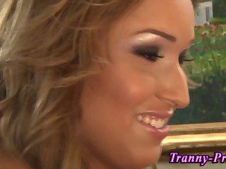 Tranny interracial facial