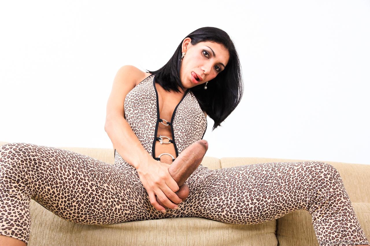 Sabrina Suzuki hot transgirl pornstar with huge fat dick
